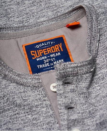 Superdry Heritage Grandad Long Sleeve Top