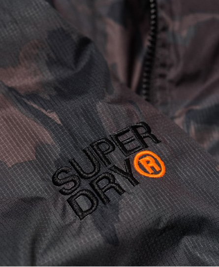 Superdry Arctic Hooded Print Pop Zip SD-Windcheater