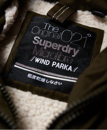 Superdry Parka à capuche Boxy Snorkle SD-Wind