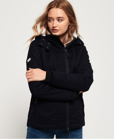Boxy Snorkle Hooded SD-Wind Parka Jacket