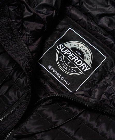 Superdry Core dunjakke med hætte
