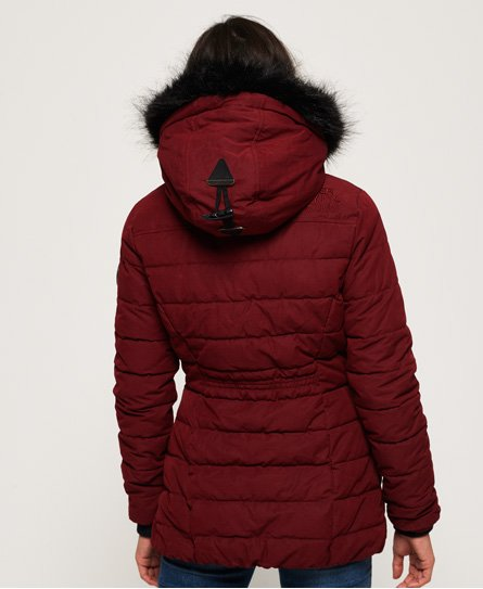 Superdry Microfibre Tall Toggle Parka Jacket