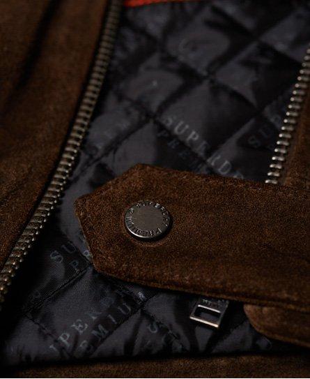 Superdry Superdry Premium Indiana Leather Jacket
