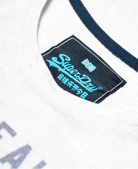 Superdry T-shirt con logo vintage Neon Pop