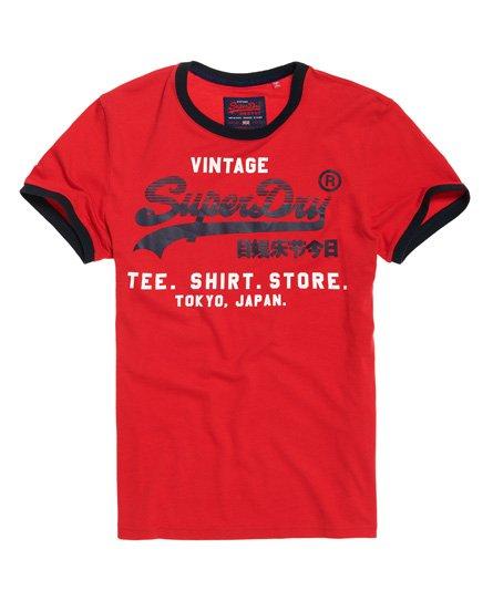 Shirt Shop Retro Ringer T-Shirt - Superdry - Modalova
