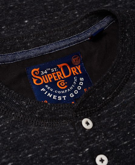 Superdry Prospector Grandad Long Sleeve Top