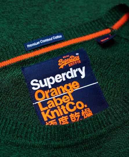 Superdry Pyöreäkauluksinen Orange Label -puuvillapusero