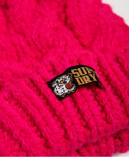 Superdry Chic Regal Cable Beanie