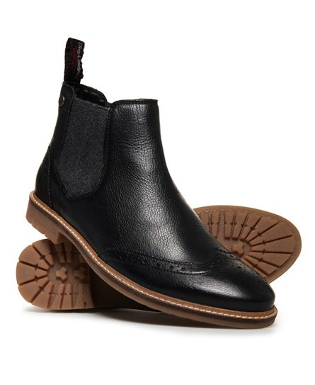 Brad Brogue Chelsea Boot