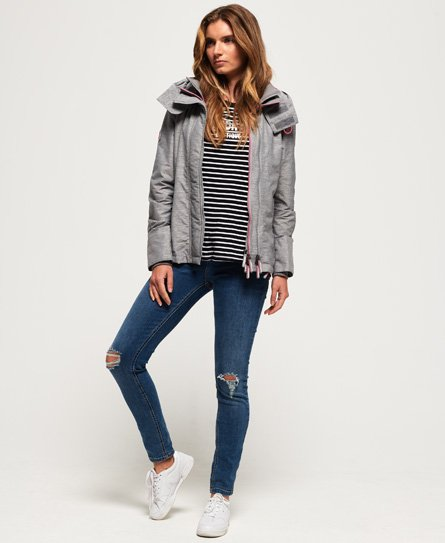 Superdry Tech Hooded Pop Zip SD-Windcheater