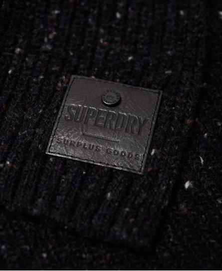 Superdry Surplus Goods Tweed Scarf