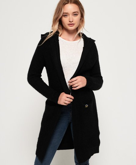 Superdry Taylor Hooded Longline Cardigan