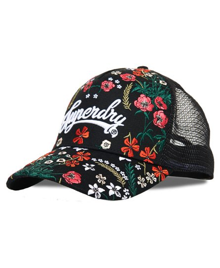 Superdry Embroidery Trucker-caps