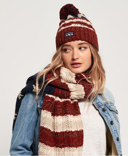 Americana Cable Beanie