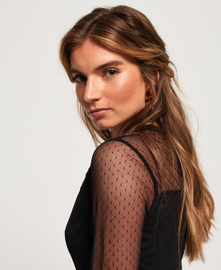 Superdry Antonia Mesh Dress