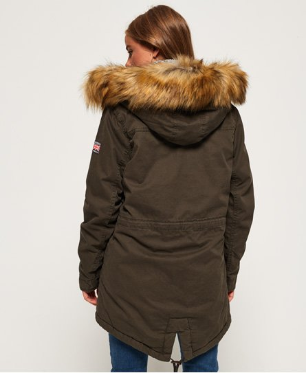 Superdry Classic Rookie Fishtail -parkatakki
