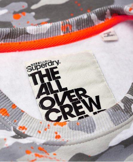 Superdry Sweat-shirt col rond à éclaboussures