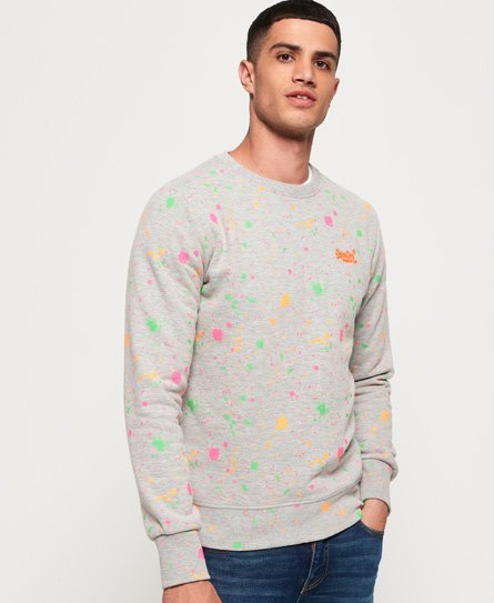 Superdry Splatter Sweatshirt