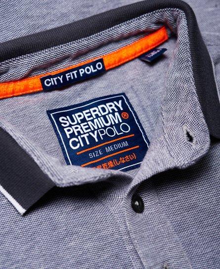 Superdry City Oxford piké-poloskjorte