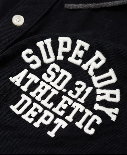 Superdry Klassisk, langermet Superstate Polo-skjorte