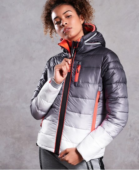 Superdry Polar Power Steppjacke in verblassten Farben