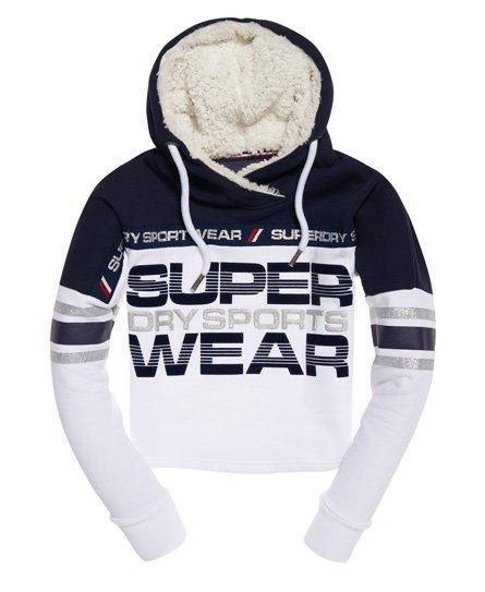 Superdry Sweat à capuche Block Repeater