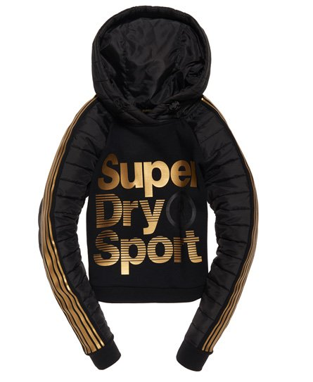 Superdry Gymtech Gold Hybrid Hoodie