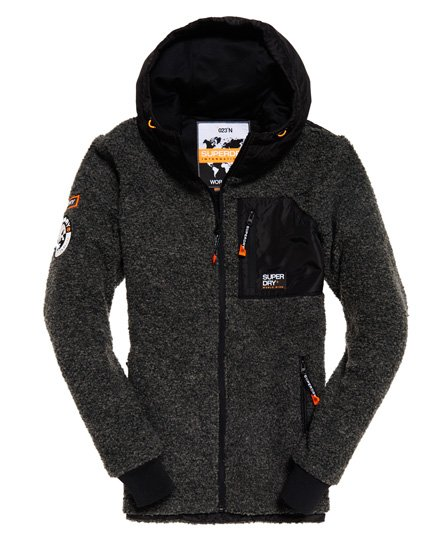 Superdry Mountain Sherpa Kapuzenjacke