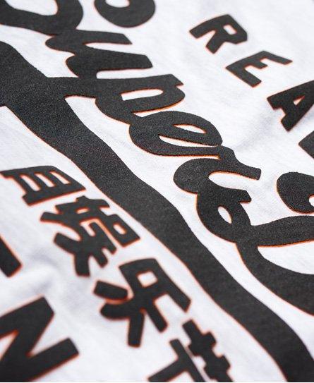 Superdry Vintage Logo T-Shirt mit langen Raglanärmeln