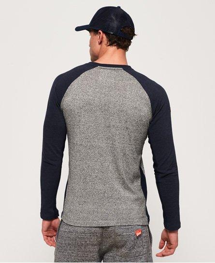 Superdry Vintage Logo Raglan Long Sleeve T-Shirt