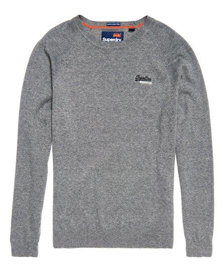 8ab80983878c91 Superdry Baumwollpullover mit Rundhalsausschnitt aus der Orange Label Kol