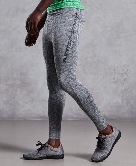 Superdry Performance Leggings mit reflektierenden Akzenten