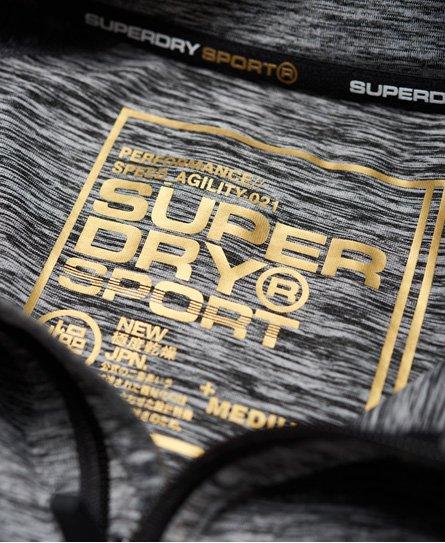 Superdry Top con media cremallera Performance Reflective