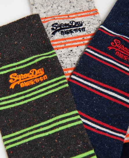 Superdry City Sock Triple Pack Boxed