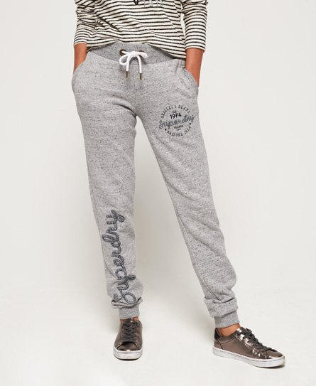 Superdry Aria Applique Slim -collegehousut