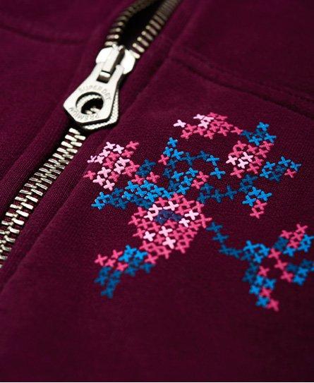Superdry Cross Stitch Zip Hoodie