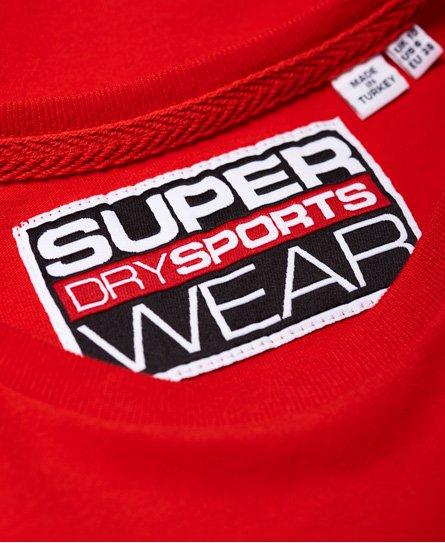 Superdry Verkürztes Street Sports T-Shirt