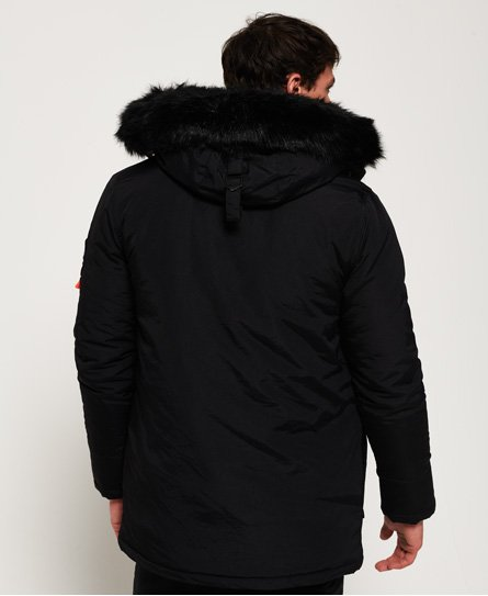 8f5c7fa32f95 Mens - Everest Parka Jacket in Black