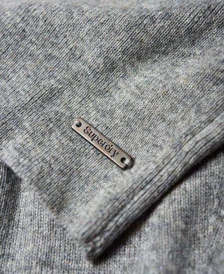Superdry Nordic strikkjole med skorstenskrave