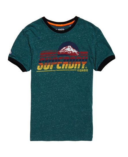 Superdry Mountain Trial Ringer T-Shirt