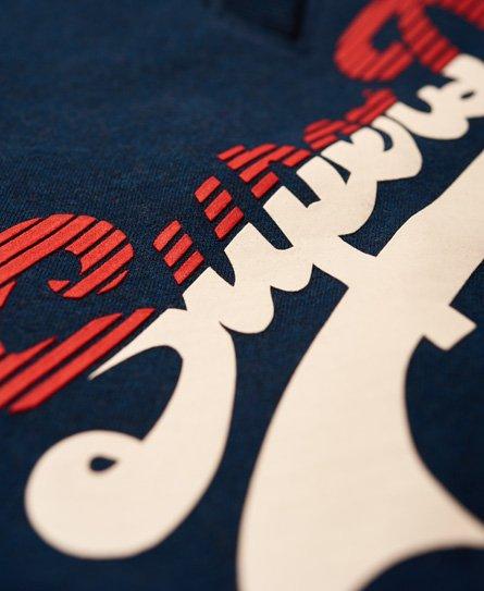 Superdry Vintage Logo Tri Colour Joggers