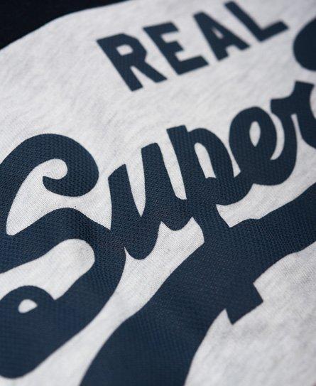 Superdry Vintage Logo Panel Long Sleeve T-Shirt
