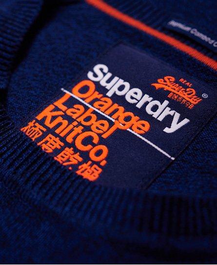 Superdry Maglione girocollo in cotone Orange Label