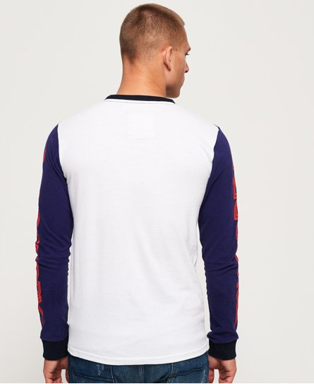 Superdry Dry 500CC Long Sleeve Panel T-Shirt
