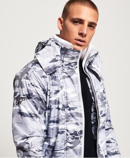 Superdry Arctic Print Pop SD-Windcheater met capuchon en rits