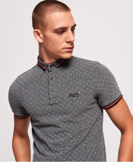 Superdry City Jacquard All Over Print Polo Shirt