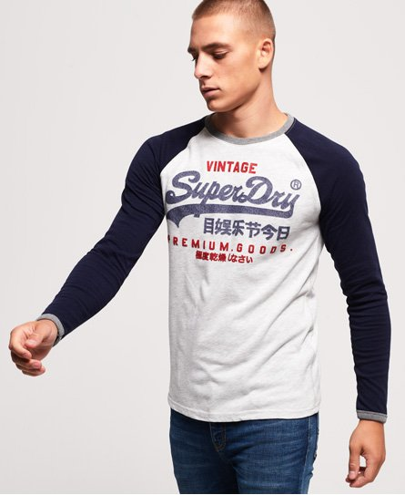 Superdry Premium Goods Raglan Long Sleeve T-Shirt