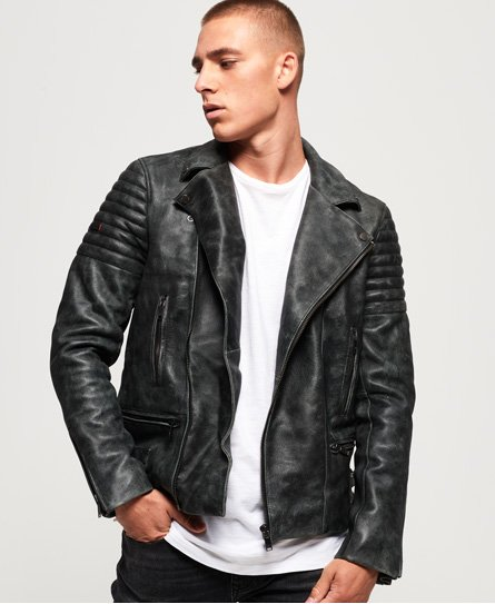 Premium Classic Leather Jacket
