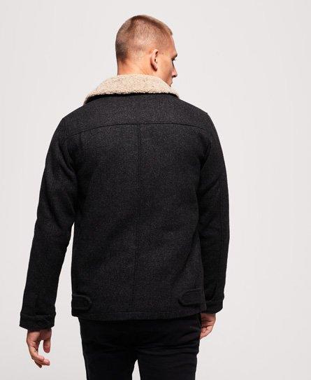 Superdry Mason Wool Blend Trucker Jacket