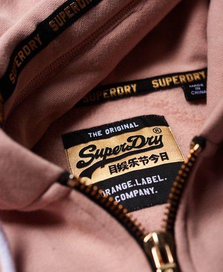 Superdry Orange Label Elite -vetoketjuhuppari
